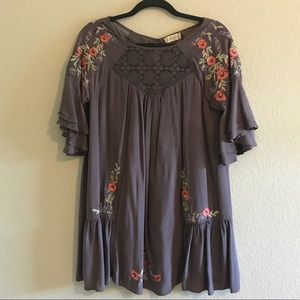Altar'd State embroidery dress